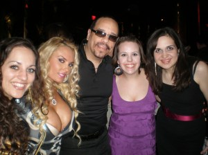 We met the glamorous Coco and the awesome Ice-T at XS Nightclub at the Encore!